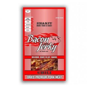 Bacon Jerky Snakit Piccante