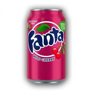 Fanta Wild Cherry Soda