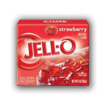 Jell-O gelatina alla Fragola