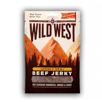Beef Jerky Honey & BBQ Wild...