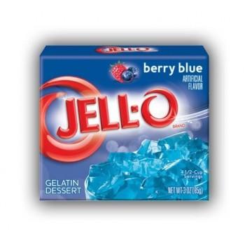 Jell-O Gelatina al Mirtillo...