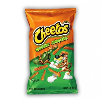 Cheetos Cheddar e Jalapeno...